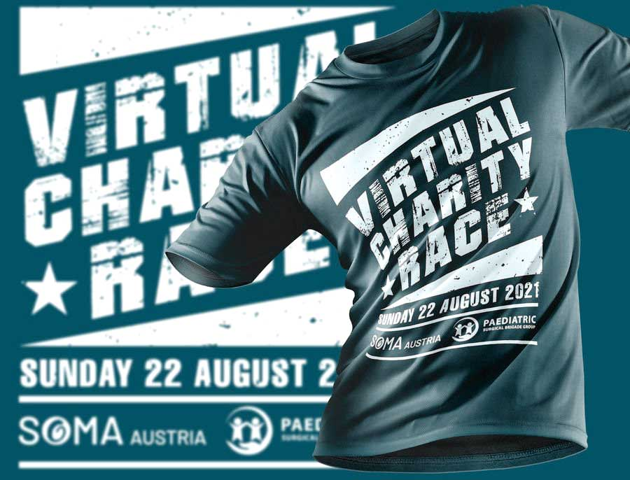 t-shirt virtual charity race soma austria und helping hands for anorectal malformations